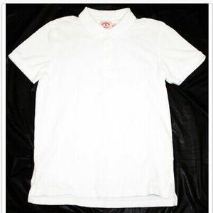 Brooks Brothers Short Sleeve Polo White Shirt